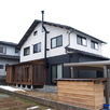 宿泊体験ができる郷の家モデルハウス2