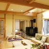 宿泊体験ができる郷の家モデルハウス1
