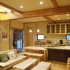 宿泊体験ができる郷の家モデルハウス3