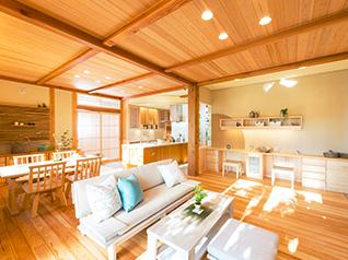 木絆の家(松本モデルハウス)