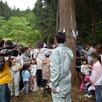 夢ハウス育成林伐採ツアー開催1