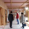 お客様のお宅 新築構造見学会1
