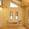 ヨガ教室in「天然木の家モデルハウス」1