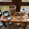 陶芸作品と住まい相談会1