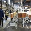 本社展示場と工場見学に行きました。1