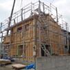 天然木の家 構造見学会1