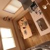 大空間お客様の家木のひらやオープンハウス2