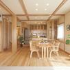 本物の木の家 完成見学会1