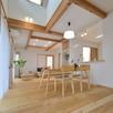 【無垢の木の家】お客様の家・構造見学会1