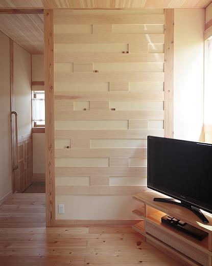 壁面装飾により部屋が華やぐ