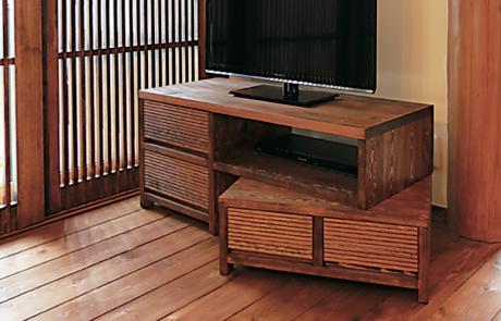 お部屋に合わせたアレンジが可能なTVボード