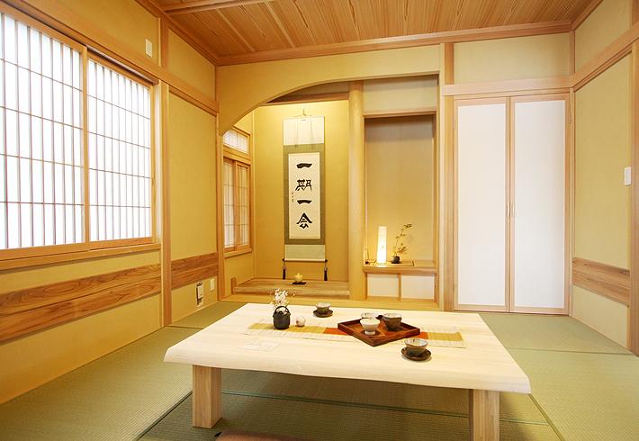 日本人ならではの落ち着きの空間