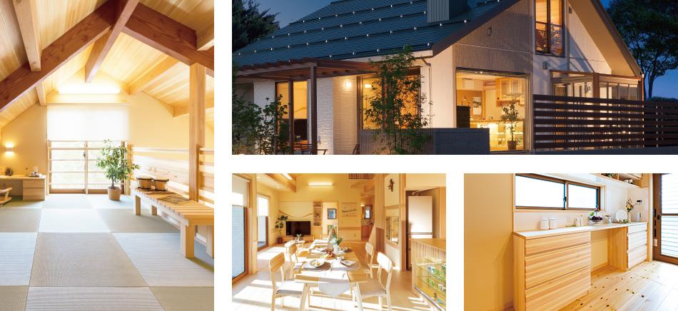 富塚モデルハウスには見所がたくさんあります!