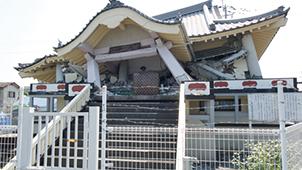 崩壊してしまった建物の例6. 築8年