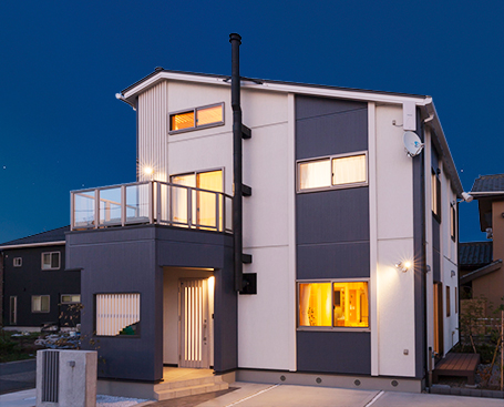 tsumiki(新発田市モデルハウス)外観
