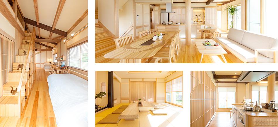 沖縄モデルハウスには見所がたくさんあります!