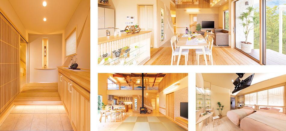 木のひらや 松本モデルハウスには見所がたくさんあります!
